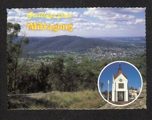 NSW-c1980s-POSTCARD-PANORAMA-OF-MITTAGONG-TOWNSHIP-NEW-SOUTH-WALES
