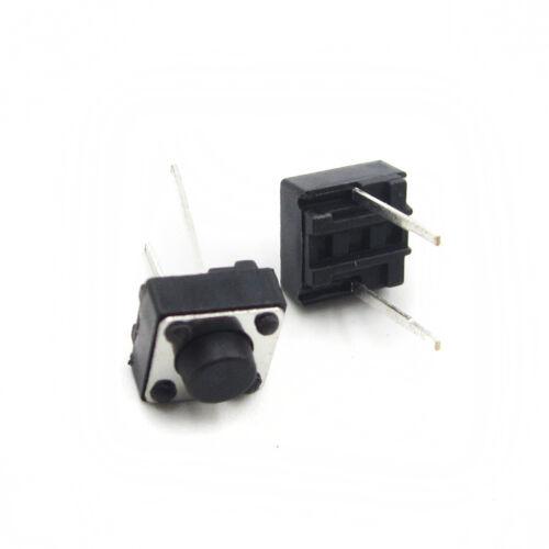 50//100PCS Tactile Push Button Switch 6x6x5mm 2P Micro Switch Key Switch 6*6*5