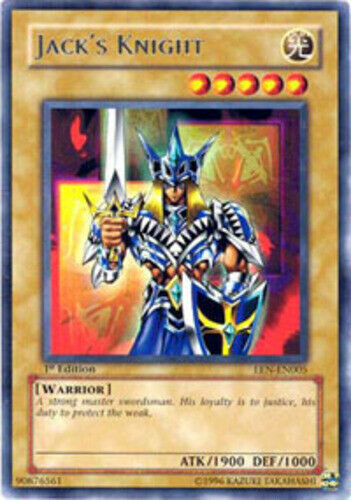 Unlimited Edition x3 EEN-EN005 Rare Jack/'s Knight Lightly Played