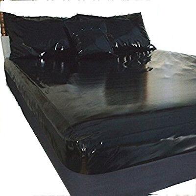 Tamaño de la Cama hoja cabida PVC doble vinilo de alto