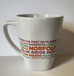 Dunkin Donut Virginia DD Destinations Coffee Tea Cup Mug 12 oz EUC Collectible