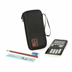 TI 84 /Plus CE Graphing Calculator Texas Instruments Scientific Hrad Case Black