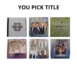 Christian Southern Gospel & Hymns CDs Imperials Hoskins Hoppers & More YOU PICK