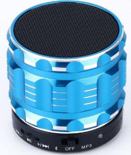 Bluetooth Wireless Speaker Mini SUPER BASS Portable For iPhone Samsung PC Blue