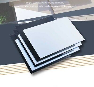 Black ABS Plastic Sheet Board DIY Model Craft 200x250mm 1//1.5//2//3//4//5mm Thick