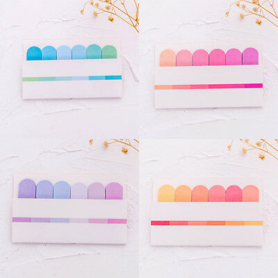 Cute Sticky Notes Office Bookmark Marker Memo Index Flags Tab Strip Sticker New