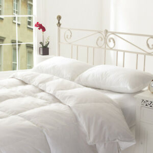 Luxury Goose Duck Feather and Down Duvet, Quilt All Sizes Available 13.5 TOG