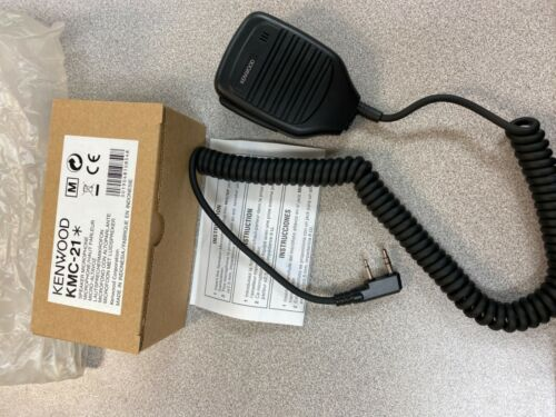 Kenwood KMC-21 Dynamic Cable Professional Microphone New NIB