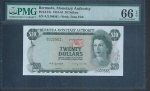 Bermuda $2 Hybrid Polymer 2009 1st REPLACEMENT Z//0 Pick-57a* GEM UNC PMG 65 EPQ