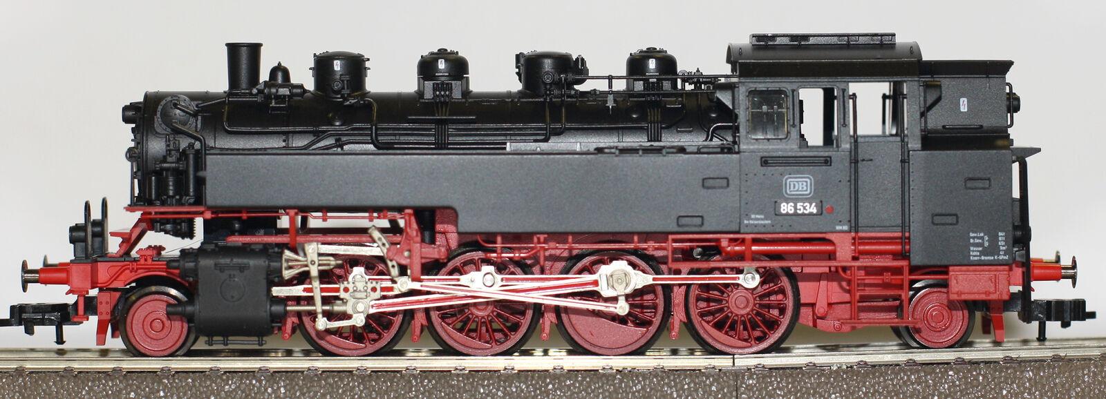 Fleischmann h0 964086 locomotora a vapor br 86 de la DB