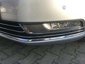VW-Passat-B7-oder-B8-Zierleisten-Chromleiste-unten-3-tlg-NEU