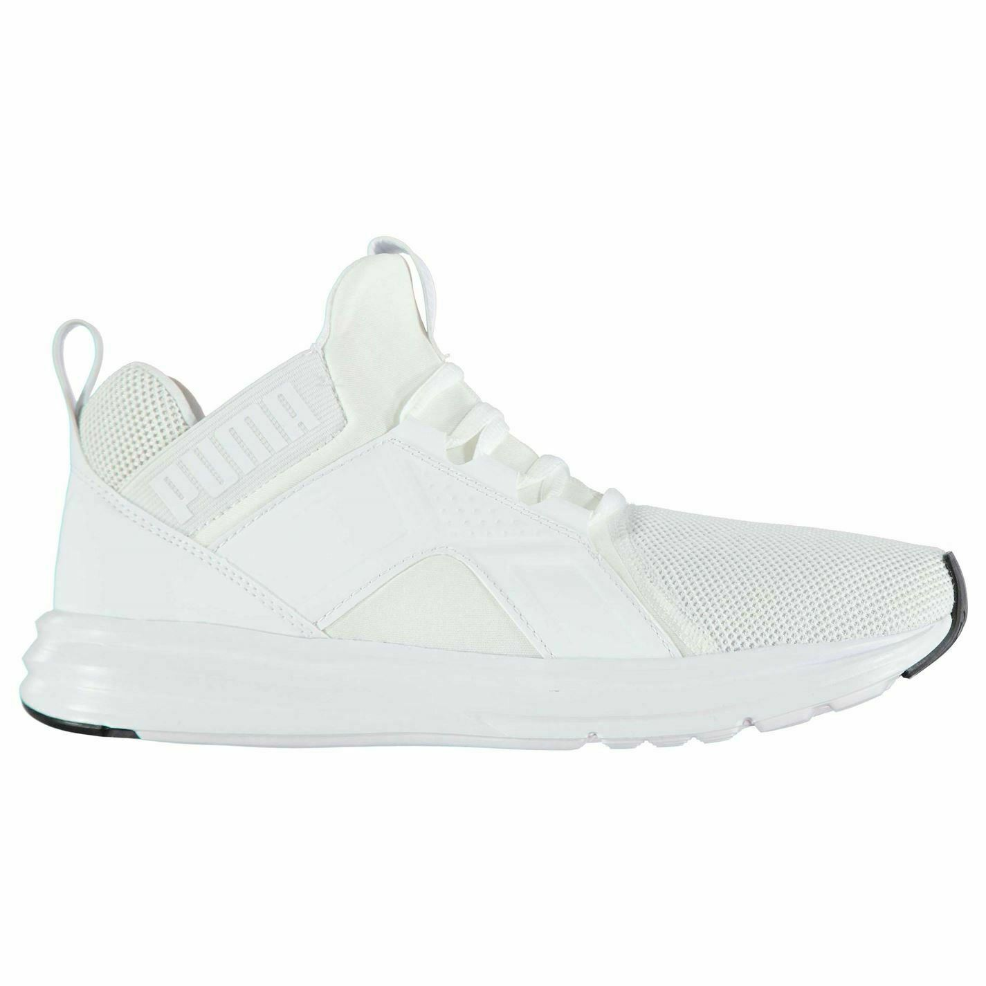Puma Enzo Mesh Runners Trainers Mens White Athletic Sneakers shoes