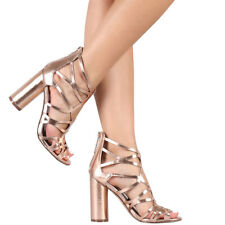 2b356f97172e item 1 New Strappy Cage Cut-Out Gladiator Sandal Shoe Chunky Cylinder High  Heel PeepToe -New Strappy Cage Cut-Out Gladiator Sandal Shoe Chunky  Cylinder High ...