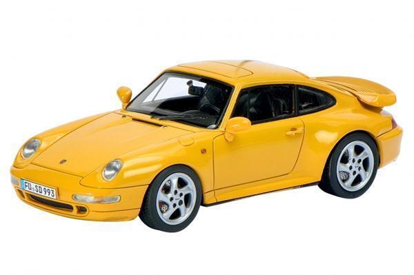 Schuco Porsche 911 (993) Turbo giallo 1 43 450887600 1 43 1 43