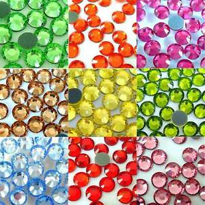 2500pcs-3MM-Glass-Hot-Fix-Crystal-Rhinestones-Iron-On-Flat-Back-Trainers-Bling