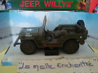 VOITURE MILITAIRE JEEP WILLYS METAL USA WW2 1/32 NEW RAY