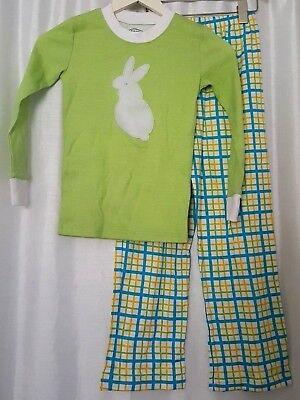 Saras Prints Boys Plaid Pajama Shorts Sz 4 Blue