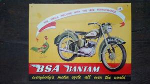 B-S-A-Bantam-moto-Placa-metalica-litografiada-publicidad-38-x-29-cm-replica
