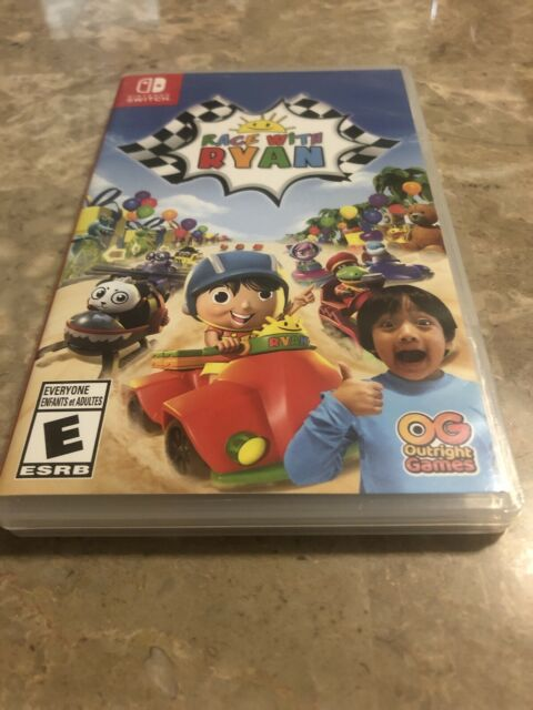 Race With Ryan Nintendo Switch Complete - Fast Free Shipping