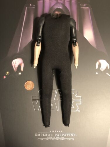 Hot Toys Star Wars Emperor Palpatine MMS468 Nude Body loose 1//6th scale