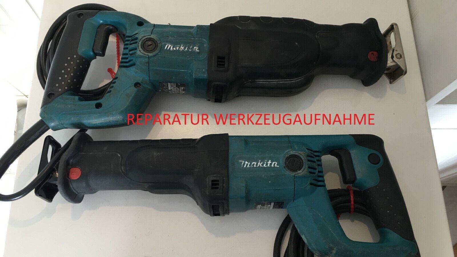 Makita Säbelsäge, Tigersäge, Reparatur der Werkzeugaufnahme, JR3050T 60T 70CT
