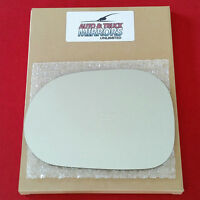 Mirror Glass + Adhesive Mercedes Ml320 M Class Driver Left Side Fast Ship