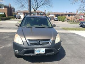 2002 HONDA CR-V EX AWD IN GREAT CONDITION