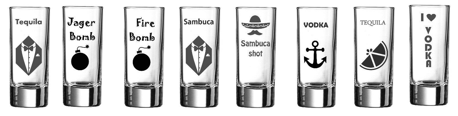 Engraved Shot glass Wedding Stag Hen Do Party Birthday Gift Idea by jevge