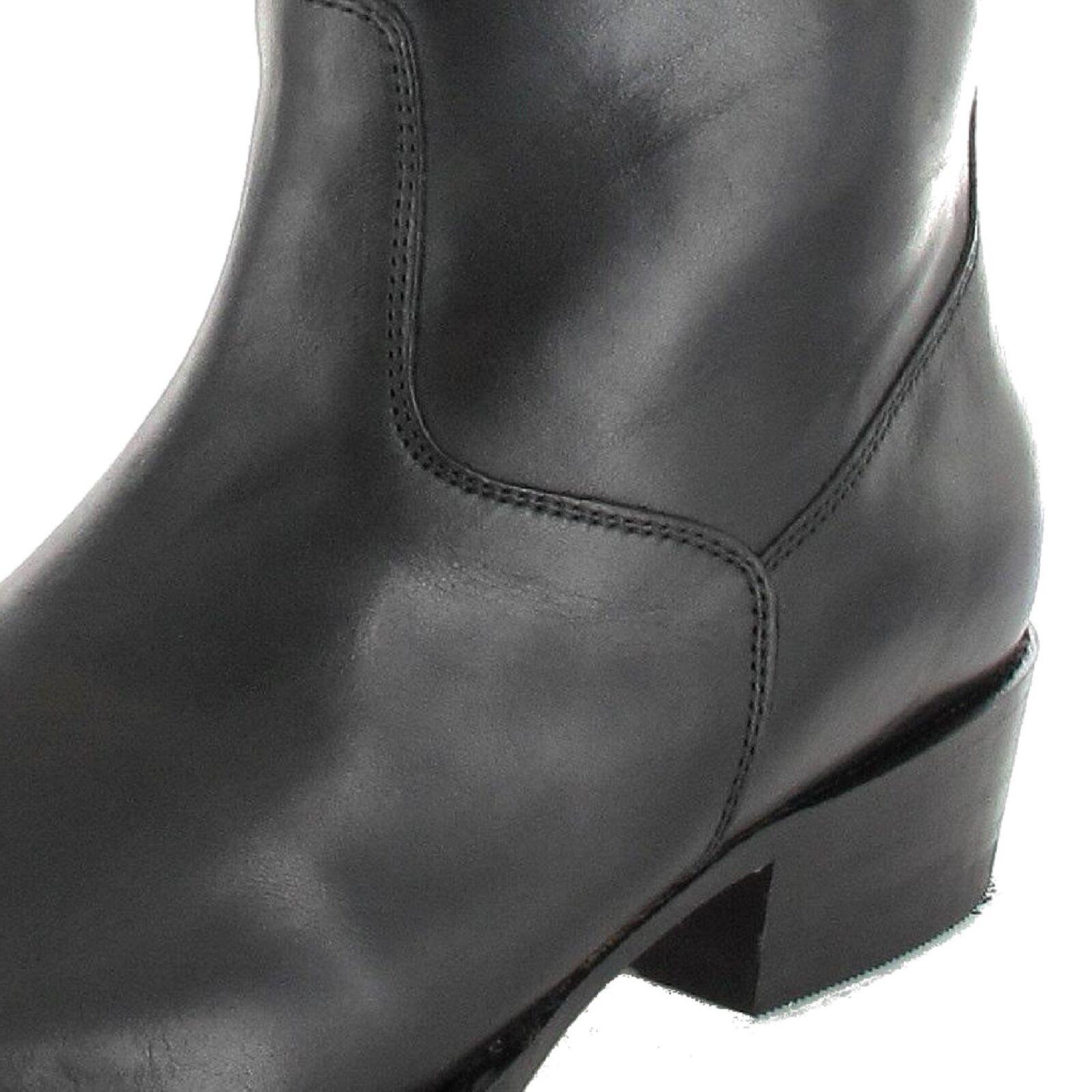 Sendra stivali Stivaletti 7438 Nero Nero Nero Stivaletti Western Cowboy Stivaletti | Louis, in dettaglio  938c1b