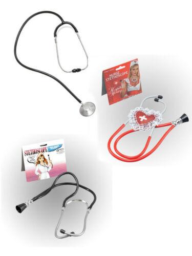 #Doctor//Infermiere Stetoscopio Giocattolo Costume Addio al Celibato//Hen Night Costume Accessorio
