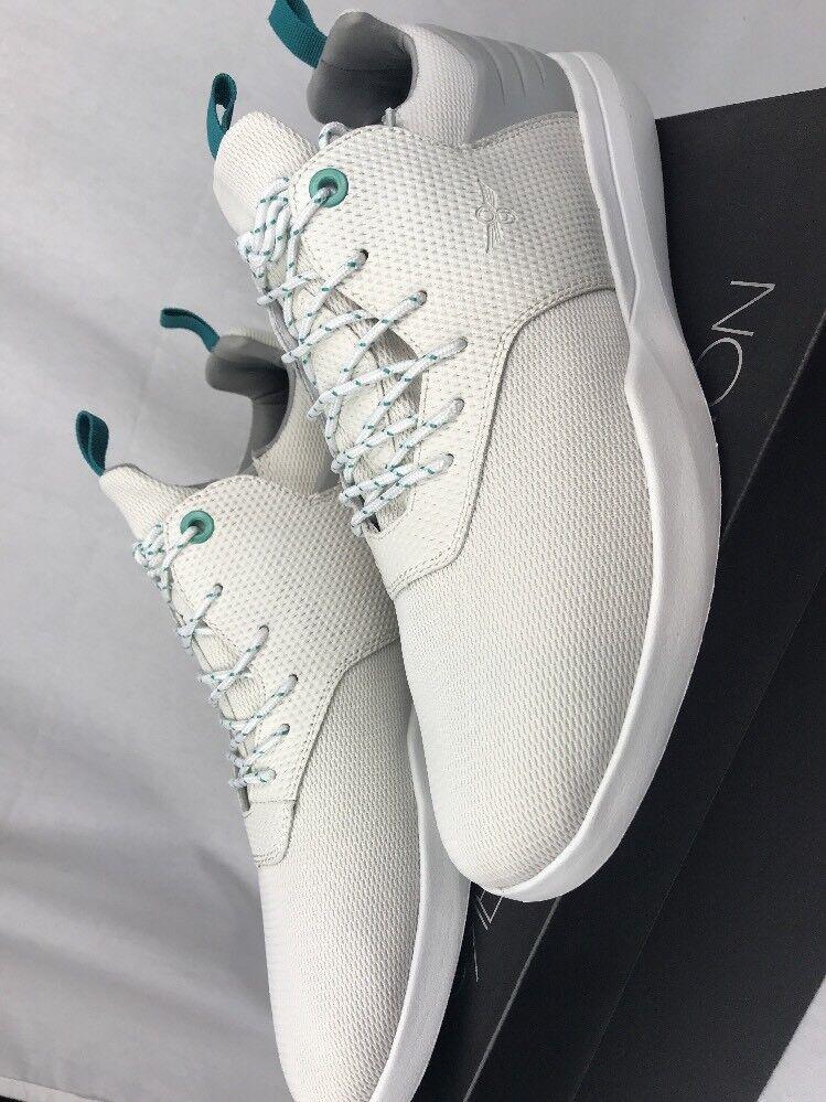 CREATIVE RECREATION Uomo Deross bianca Vapor FASHION scarpe da ginnastica scarpe 11M