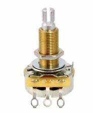 CTS 500K Long Split Shaft Audio Taper Pot Potentiometer Fine Spline for Gibson
