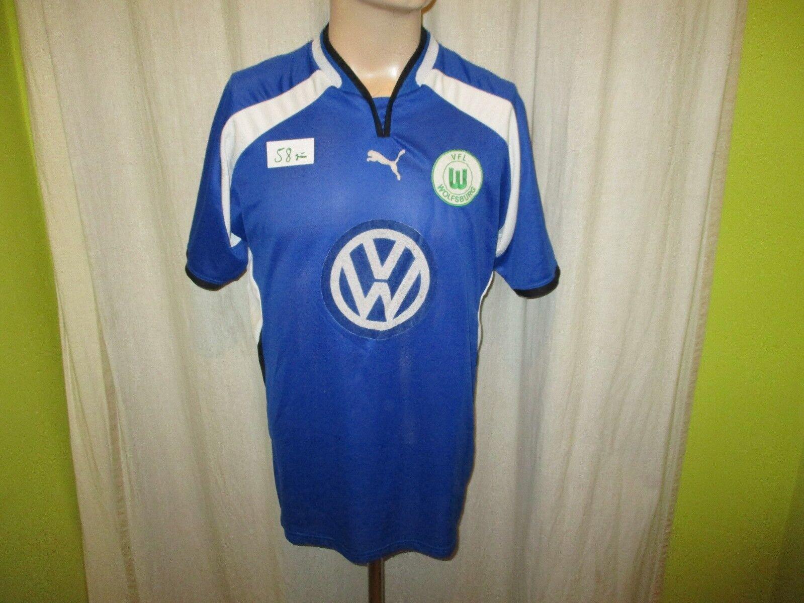 VfL Wolfsburg Original Puma Ausweich Trikot 2000 01  VW  Gr.XL TOP  | Jeder beschriebene Artikel ist verfügbar