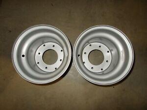 (2) Rims Wheels Honda ATC250SX 250SX 250 SX Steel NEW Front Rear
