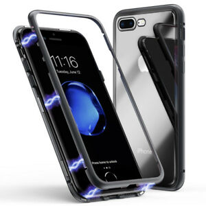 Iman-Funda-Protectora-para-Movil-Cristal-Blindado-Metal-Carcasa-Estuche-Iphone
