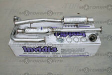INVIDIA 97-01 Prelude N1 Catback Exhaust BB5 60mm