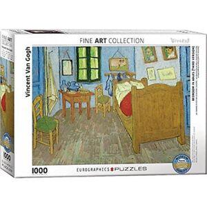 Dettagli su Eurographics Puzzle 1000pc-La camera da letto di Van Gogh,  ARLES-Gogh Eg60000838- mostra il titolo originale