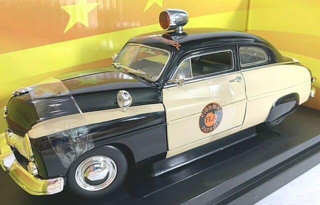 #32818 Ertl American Muscle 1949 Mercury Florida Highway Patrol Die Cast 1:18