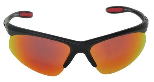 Crossfire Lunettes de soleil polarisées Miroir Rouge Cat-3 UV400 Lentilles