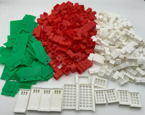Sta-Lox-Vintage-Miniature-Building-Bricks-Pieces-amp-Parts-Over-3-Pounds-20-122
