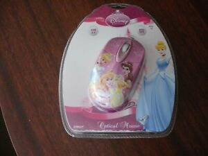 Disney-Princess-Pink-Computer-Optical-USB-PC-Mouse-DSY-MO105-NEW