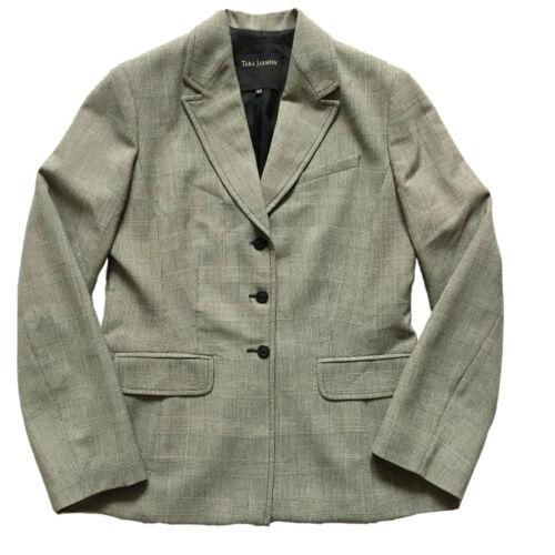Tara Jarmon Sz S 40 Wool Classic Jacket Blazer Che