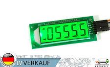 5 Zeichen digital SPI LCD Display Modul HT1621 mit grünem BL für Arduino NEU