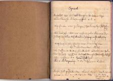 1932-1939 Europe Football League Soccer Notebook Ink German Jew Jewish till WWII