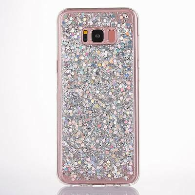 Luxury Bling Glitter Soft Silicone Case Cover For Samsung Galaxy J3 J5 J7 Note 8