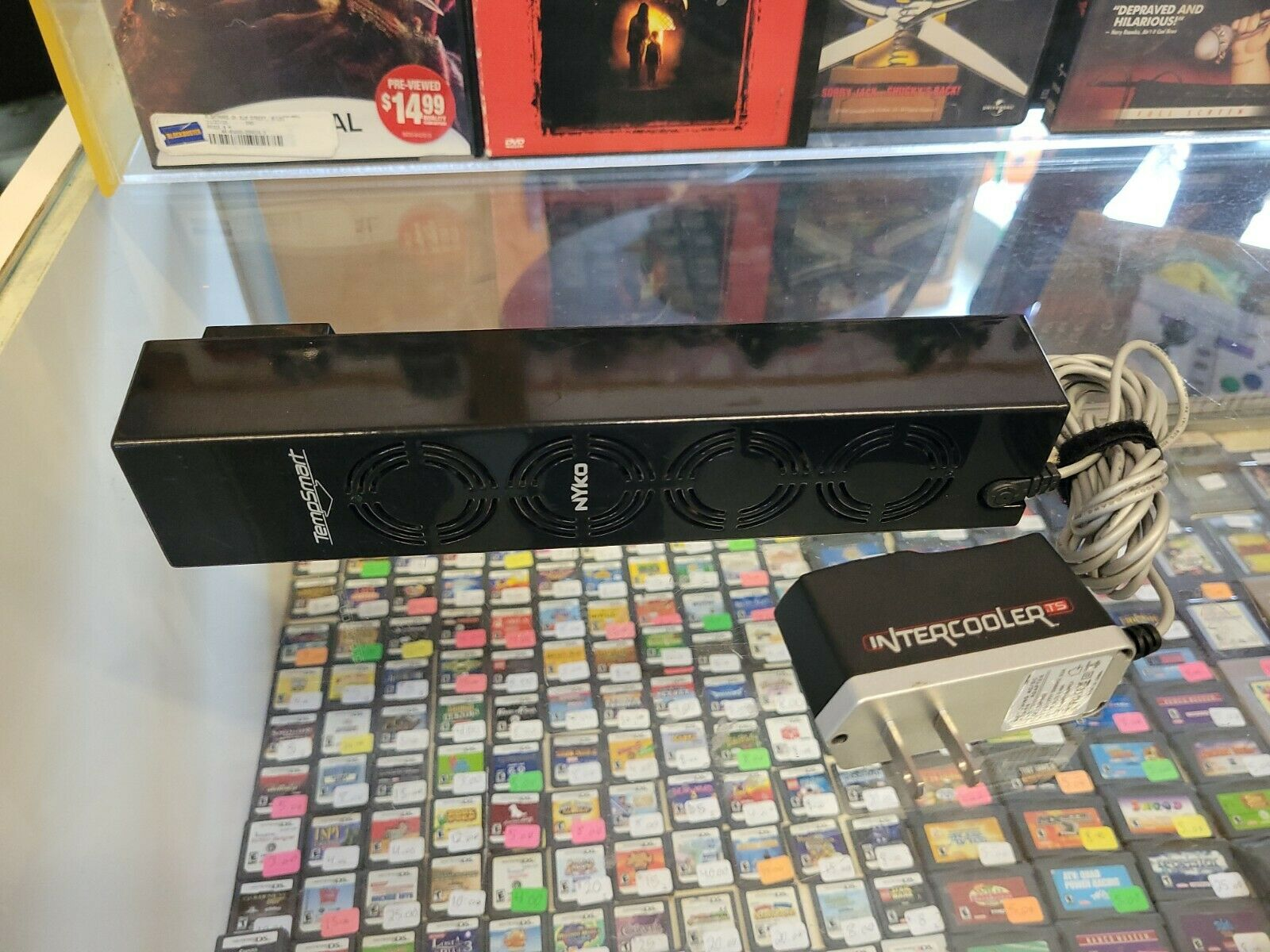 Nyko PlayStation 3 PS3 Intercooler Temp Sensing Snap On Cooling Device