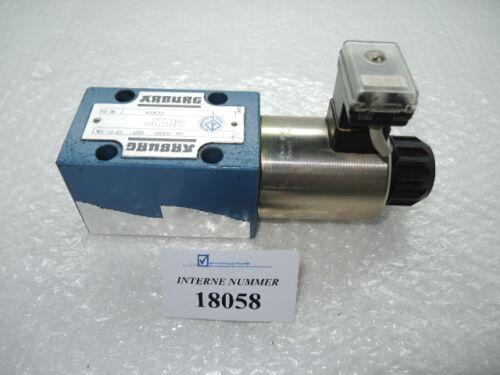 4/2 Way valve SN. 160.572, Arburg No. WE10DA01B0240-G0, Arburg machines