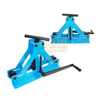 Manual Square Tube Pipe Roller Rolling Bender Bending Fabrication Mild Steel
