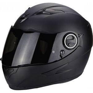 casque-casco-helmet-SCORPION-EXO-490-solid-black-mat-taille-l-59-60-cm