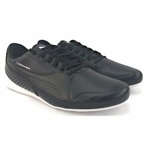 PUMA-Mens-BMW-MMS-Drift-Cat-7S-Ultra-Puma-Black-Sneaker-Shoes-Size-10-M